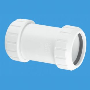 "S28M 1 1/4"" Straight Connector. McAlpine"